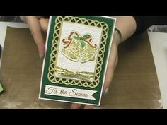 #170 Learn Foil & Glitter techniques with Simply Defined Dies & Stamps by Scrapbooking Made Simple - YouTube