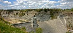 Mount Morris Dam.  Letchworth State Park.