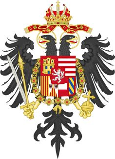 Middle Coat of Arms of Charles VI, Holy Roman Emperor - III. Francis I, Roman Emperor, Kaiser, Wikimedia Commons, Coat Of Arms, Tatoos, Joseph, Christmas Ornaments, Holiday Decor