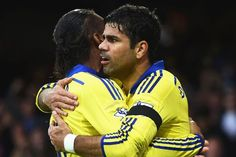 Chelsea working from Didier Drogba blueprint to try and get the best out of hot-headed Diego Costa...