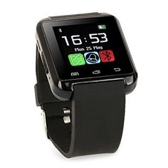 HellenHe Bluetooth 3.0 Multi-Language Smart Wrist Watch Smartwatch with Touch Screen Compatible with Android Smartphones Including iPhone, Samsung, HTC, Sony (Black) , http://www.amazon.co.uk/dp/B06XHY6XZ8/ref=cm_sw_r_pi_dp_47O3ybE9ZJNF9