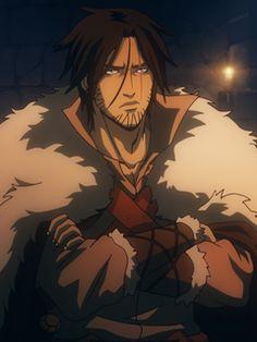 Castlevania Anime, Castlevania Netflix, Castlevania Lord Of Shadow, Belmont Castlevania, Character Art, Character Design, Trevor Belmont, Handsome Anime Guys, Anime Films