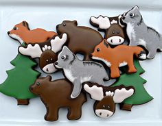 Woodland creatures   Cookie Connection