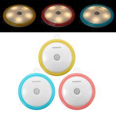 Infrared Body Sensor Induction Warm White LED Night Light Stairs Corridor Wardrobe Lamp