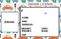 Fake Credit Card Template Unique Smile Like You Mean It Personalized Credit Cards for Kids Drivers License Pictures, License Plate Crafts, License Plates, Transportation Theme Preschool, Dramatic Play, Kids Prints, Childcare, Daycare Curriculum, Preschool Activities
