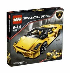 Lego Racers 8169 Lamborghini Gallardo (741 pieces) by LEGO. $169.99. Ready to ride? Get up close to the incredible Lamborghini Gallardo LP560-4 with this amazingly detailed 1:17 scale model. Enough bricks to build a coupe or spider Gallardo, which features retractable top that folds into the back. Just like the real thing.