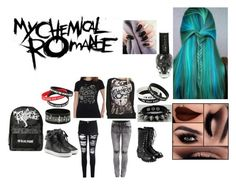 """""""My Chemical Romance"""" by hamstersarecool22 ❤ liked on Polyvore"""