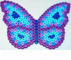 Farfalla con pyssla/ hama beads