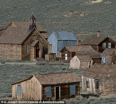 The ghost town of Bodie, California, was once a thriving mining settlement with a wild reputation. It is preserved in a state of 'arrested decay'