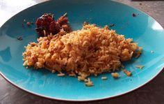 Iraqi Pink Rice Recipe