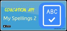 "-One of our favourite education apps for teaching spellings has been updated, with a cleaner interface, learning activities and improved ease of use. Featured in our ""Focus on Teaching Spelli… Apps For Teaching, Ipad App, Learning Activities, Spelling, Education, Apps For Education, Educational Illustrations, Learning, Studying"
