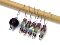 Knitting Stitch Markers Snag Free DIY Knitting by TJBdesigns, $7.50