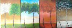 Quatro estacoes/Four Seasons---120×55 (oleo/oil)
