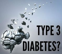 "Researchers dub Alzheimer's disease ""type 3 diabetes."" #sugar"
