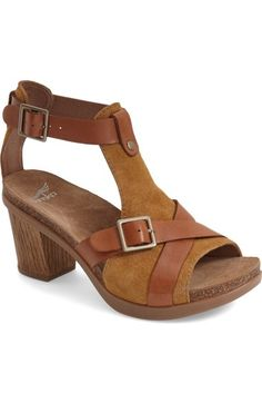 39587078a67a38 Dansko  Dominique  T-Strap Sandal (Women) available at  Nordstrom Mid