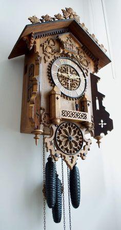 Cuckoo quail Georg Schildecker in Gütenbach – Black Forest Clock