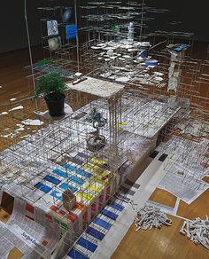 Sarah Sze Fabric Workshop and Museum