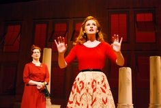 Patti Cohenour and Erin Mackey in South Coast Repertorys 2014 production of The Light in the Piazza #stage #broadway #southcoastrepertory #thelightinthepiazza #erinmackey #pattiohenour