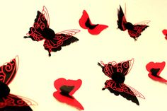 Pretty Butterfly with Rose Valentines Day Special by MyDreamDecors