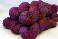 Be In My Gang: plum, mauve, soft purple, amber, sage, russet