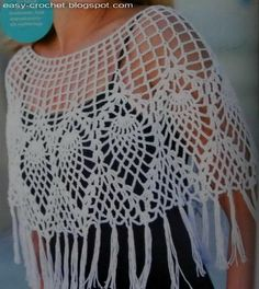 Stylish Easy Crochet: So Soft Crochet Poncho for Women