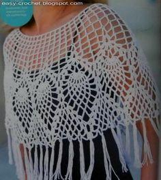 Stylish Easy Crochet: So Soft Crochet Poncho for Women