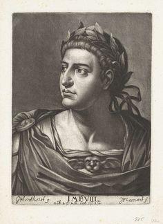 Johann Friedrich Leonard | Portret van keizer Otho, Johann Friedrich Leonard, 1643 - 1680 |