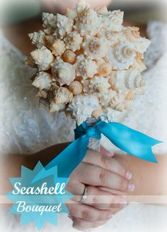 Seashell Bouquet http://www.themrsmom.com/2015/07/03/seashell-bouquet/…