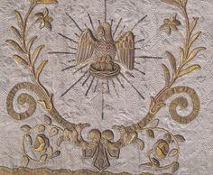 Metallic embroidery