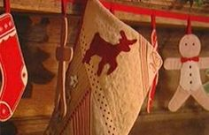 homemade christmas stocking ideas - Google Search