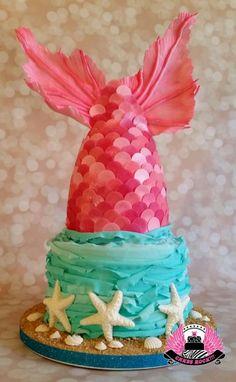 Mermaid Tail - Cake by Cakes ROCK!!! - CakesDecor
