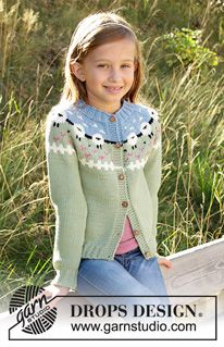 Children - Free knitting patterns and crochet patterns by DROPS Design Baby Knitting Patterns, Baby Sweater Patterns, Knitting For Kids, Knitting Stitches, Free Knitting, Knitting Projects, Crochet Patterns, Drops Design, Baby Pullover Muster