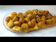 Albóndigas con patatas - YouTube