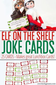 These Elf on the Shelf Joke Cards are such a fun activity for your families Elf to bring throughout Christmas Jokes, Christmas Activities, Christmas Elf, Christmas Themes, Xmas, Holiday Ideas, Christmas Crafts, Christmas Stuff, Christmas 2019
