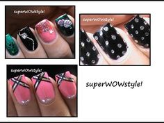 The 3 Nail Designs for the New Year's Eve Party Nails! Thee designs are incredibly cute and are great for regular party wear too, when you need some bling! New Years Nail Designs, New Years Nail Art, New Years Eve Nails, New Years Eve Party, Nail Art Designs, Design Art, Party Nails, New Year's Nails, Bling Nails