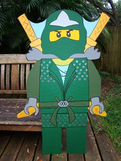 Ninja  Lloyd Lego Ninjago Photo Prop & décoration par BlueGardenias