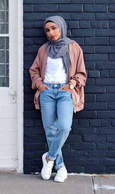 30+ Cute Hijab School Outfits for Muslim Teen Girls