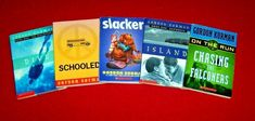 5 Gordon Korman Books Schooled Slacker On The Run 4th 5th 6th Grade