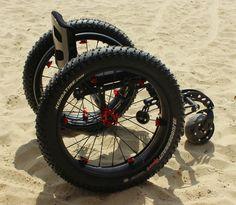 MOLAB STRAP ON WHEELS | Custom made Australian wheelchairs | Mogo Wheelchairs