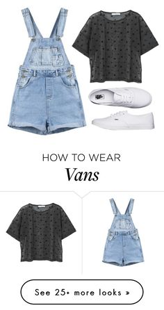 """""""Untitled #49"""" by flying-tiger on Polyvore featuring MANGO and Vans"""