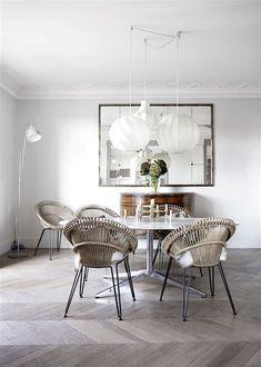A Parisien apartment with beautiful bones. Birgitta Wolfgang Drejer.