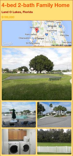 4-bed 2-bath Family Home in Land O Lakes, Florida ►$199,000 #PropertyForSale #RealEstate #Florida http://florida-magic.com/properties/80487-family-home-for-sale-in-land-o-lakes-florida-with-4-bedroom-2-bathroom