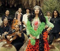 Ojos de Brujo-Last.fm...A party in the streets...Marry Afro-Cuban, hip-hop and a little flamenco....A band with a social conscience...Marina (lead singer) is beautiful, extraordinary and passionate....