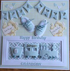 Baby Card by Sospecial Cards. Marianne Dies.