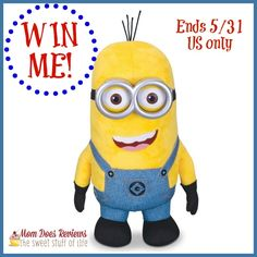 #Win a MINION!! US only ends 5/31