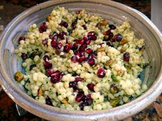 Arugula with Pomegranates, Blue Cheese and Pistachios Recipe | Foods ...