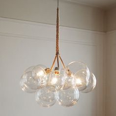 if I had a beach house... Large Bubble Chandelier by PELLE