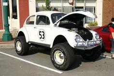 VW  V-8 power   BADASS BUG