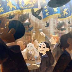 RAVENCLAW WINS!  Congratulations to Ravenclaw house on winning the house cup…