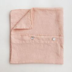 Linen pillowcase in light pink Natural Materials, Pillow Cases, Relax, Wallet, Bedroom, Pink, Collection, Bedrooms, Pink Hair